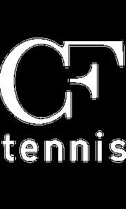 CF Tennis Logo - White3